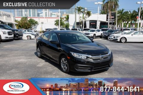 Pre-Owned 2016 Honda Civic LX